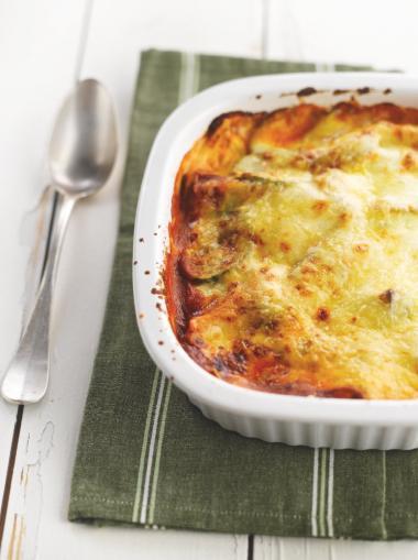 Recept 'lasagne met groenten'
