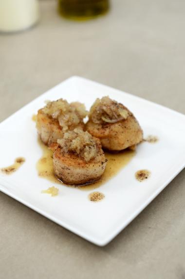 Recept 'sint-jakobsvruchten à la meunière'