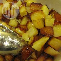gebakken aardappelen uit de air fryer