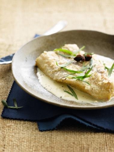 Recept 'vis met cider'