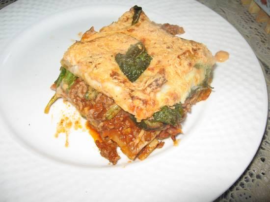Raapstelen lasagne recept