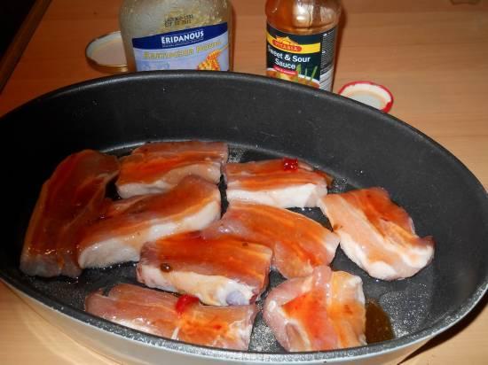 Pittige speklapjes uit de oven met honingsaus (speklappen) recept ...