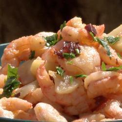 Spaanse garnalen met knoflook recept