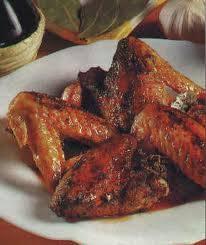 Bbq kippenvleugels in citroen knoflook marinade recept ...