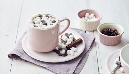 Chocolademelk met marshmallows recept