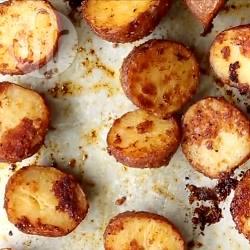 Aardappels met parmezaanse kaas uit de oven recept