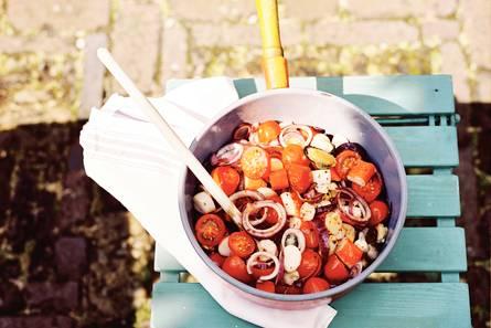 Zeevruchten met tomaat