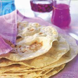 Zachte tortilla's recept