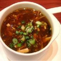 Scherpe soep uit sichuan recept