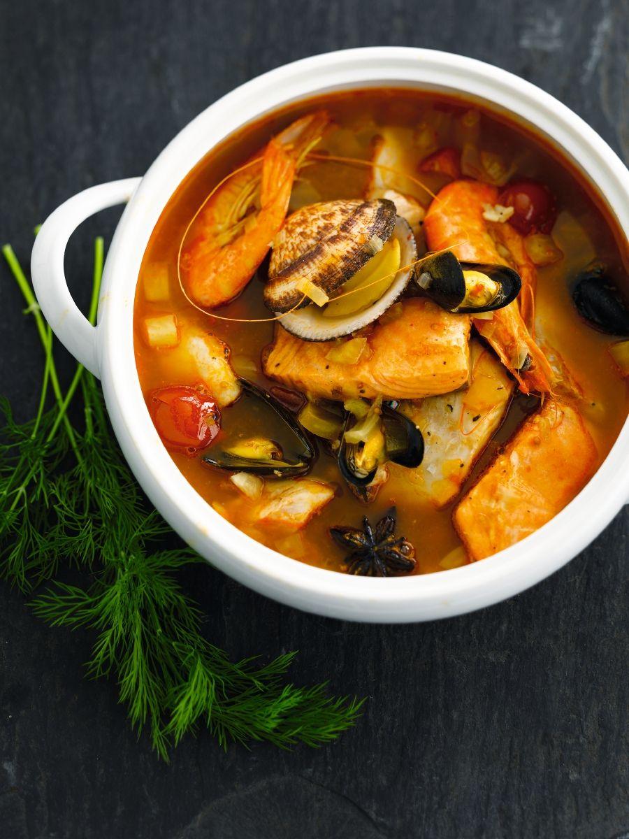 Recept 'bouillabaisse'