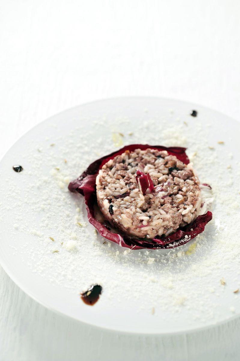 Recept 'risotto met radicchio'