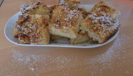 Zweedse appeltaart super lekker en super gemakkelijk te maken ...