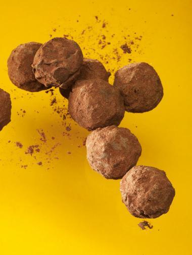 Recept 'bittere truffels'