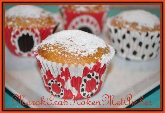 Muffins met honing, banaan, rozijnen en pecannoten recept ...