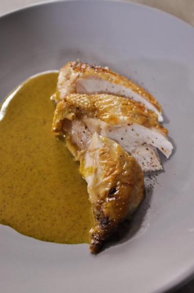 Recept 'kip met currysaus'