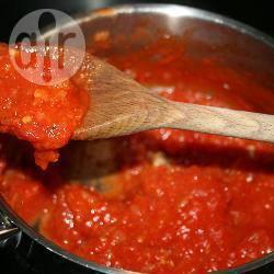 Italiaanse pizza saus recept