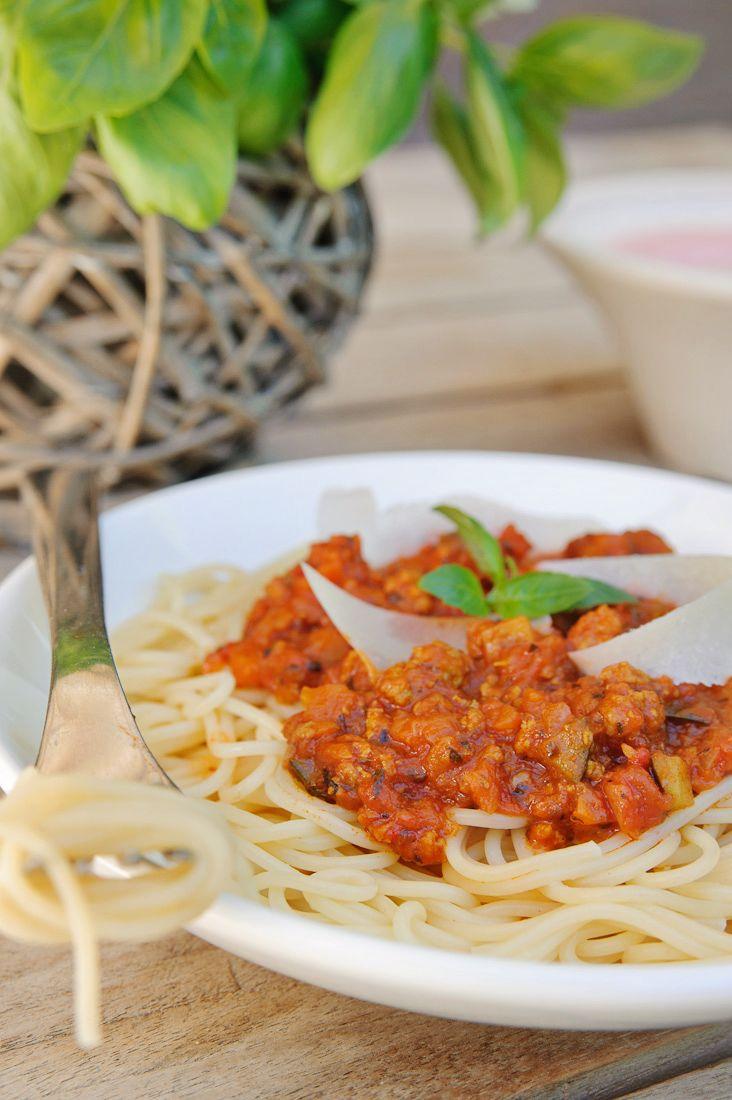 recept spaghettisaus met groenten