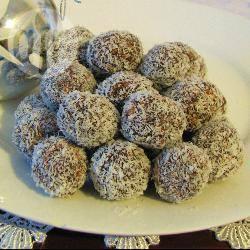 Chocolade-kokosballetjes recept