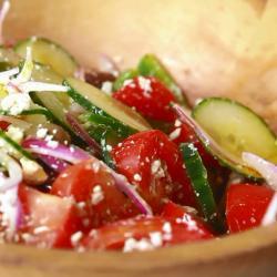 Echte griekse salade recept