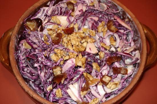Rode kool salade recept