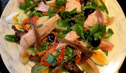 Salade nicoise comme chez moi recept