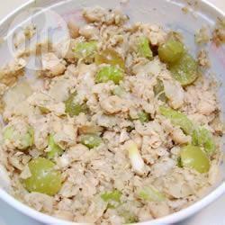 Vegetarisch broodbeleg van kikkererwten recept