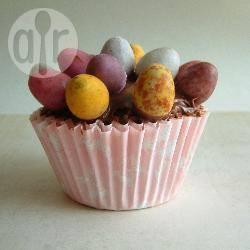 Chocoladecakejes voor pasen recept