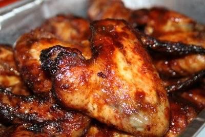 Chicken in sticky sauce recept