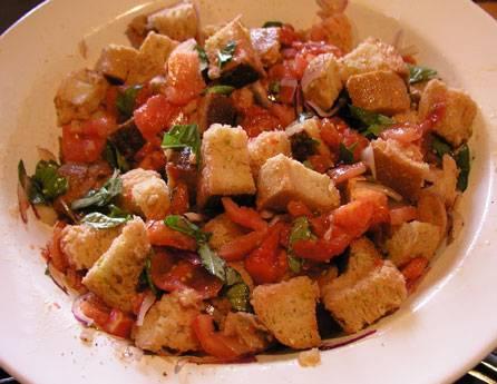 Panzanella (toscaanse broodsalade) recept