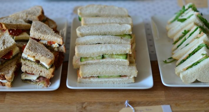 High tea sandwiches ideeën