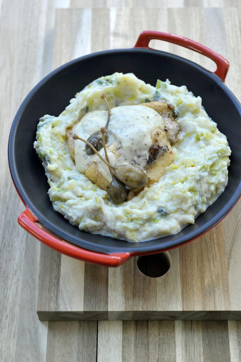 Recept 'preistoemp met pladijs en huisgemaakte tartaar'