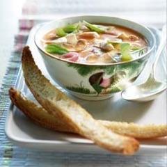 Thaise kippensoep recept