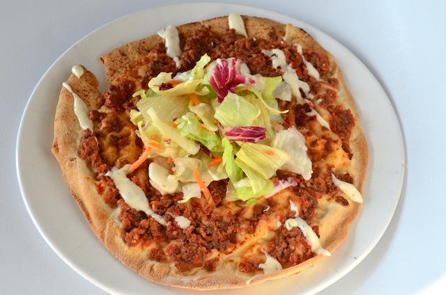 Turkse pizza | lahmachun