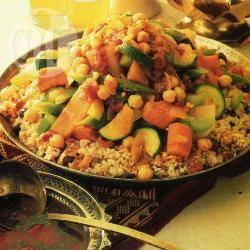 Couscous met groentestoofpot recept