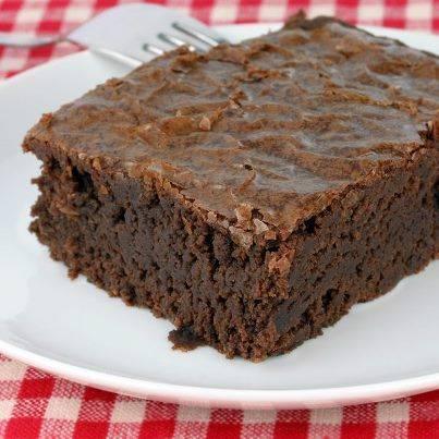 Kladdkaka (smeuige chocoladetaart) recept