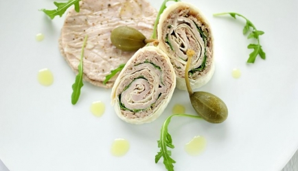 Vitello tonato wraps recept
