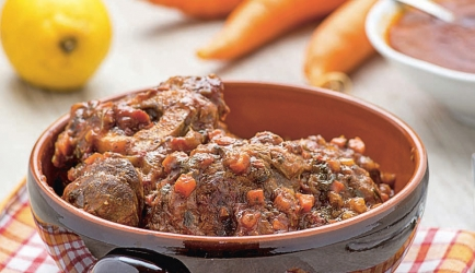 Ossobuco  glutenvrij vleesgerecht recept