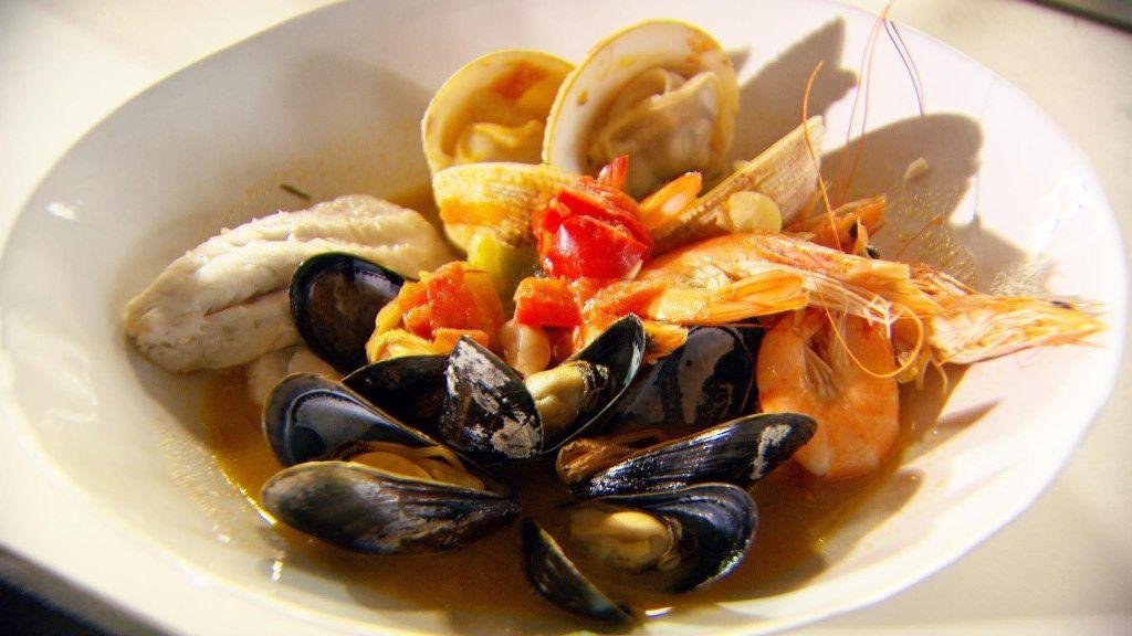 Recept 'zarzuela de mariscos'