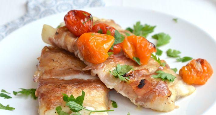 Kabeljauw met pancetta