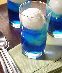 Blue lemonsorbet recept