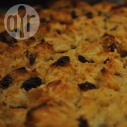 Broodpudding met whiskysaus recept
