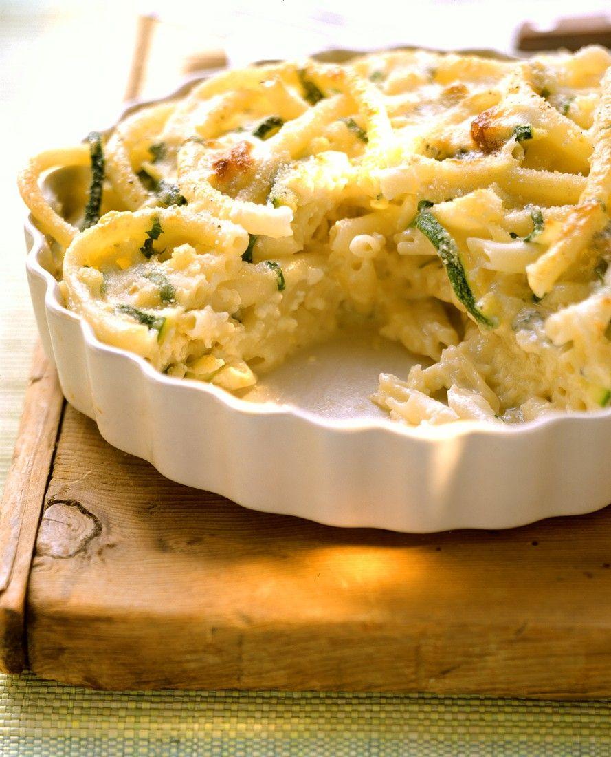 Recept 'macaroni schotel met courgette'