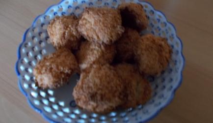 Supersnelle kokosmakronen in 5 minuten zonder eiwit kloppen ...