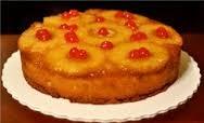 Pineapple upside down cake recept