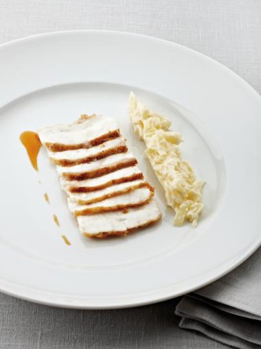 Recept 'zeeduivel met witte kool'