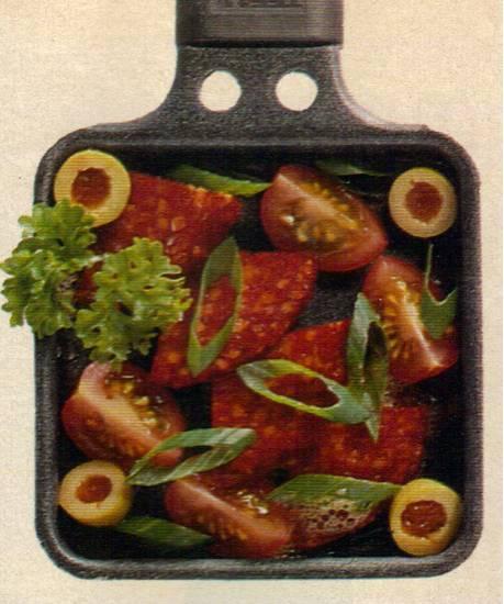 Chorizo met kerstomaatjes recept