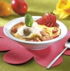 Aardbeien met sabayon recept