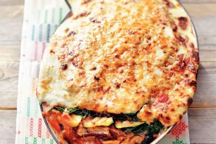 Lasagne met 4 groenten