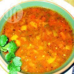 Veganistische chili uit de slowcooker recept