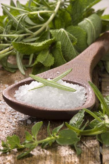 Recept 'kruidenmix met zeezout'